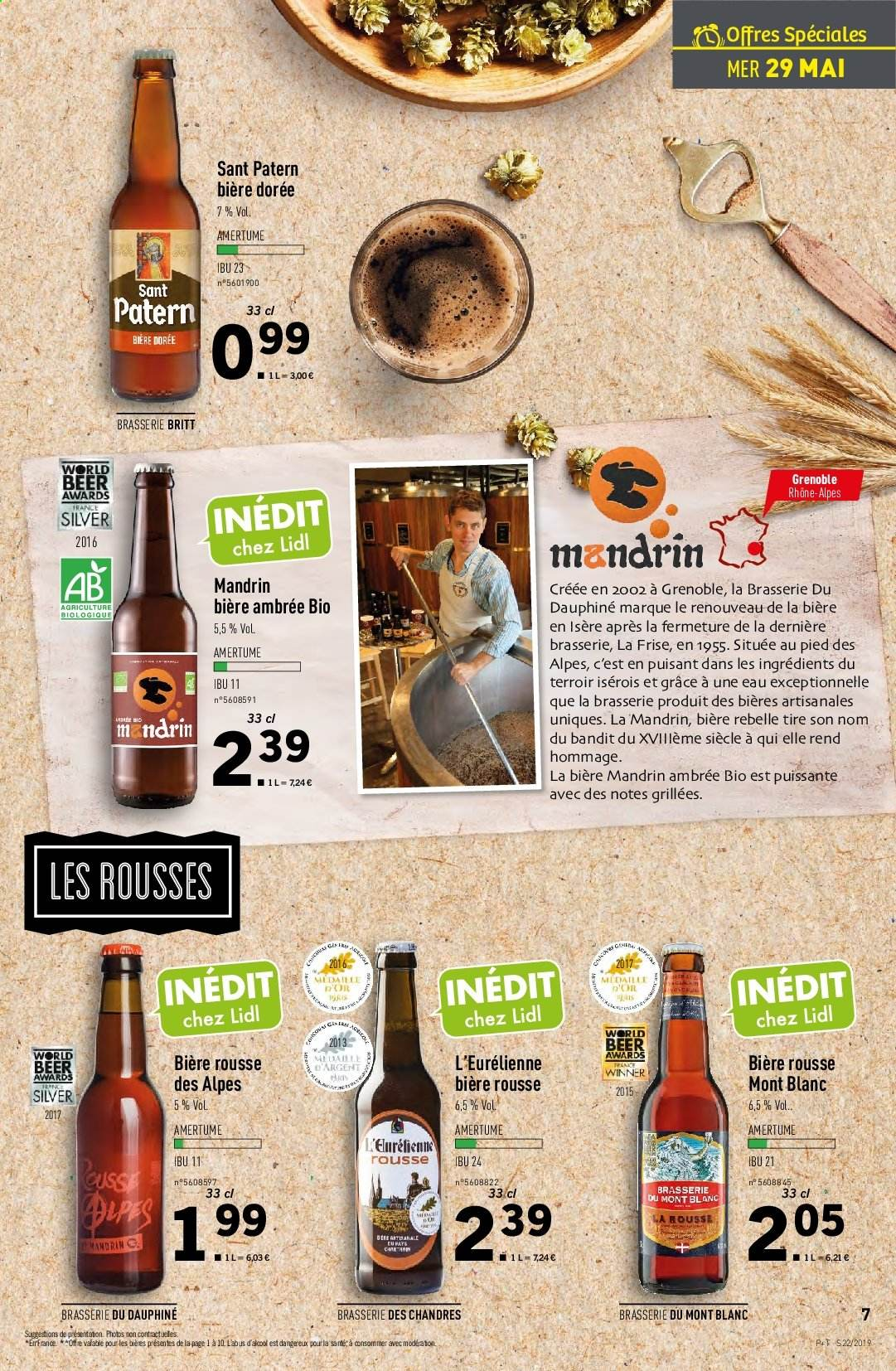 Catalogue Lidl - 29.05.2019 - 04.06.2019. Page 7.