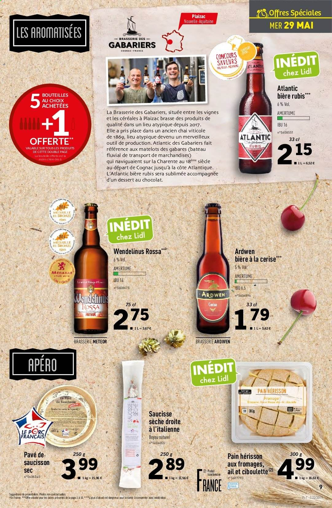 Catalogue Lidl - 29.05.2019 - 04.06.2019. Page 9.