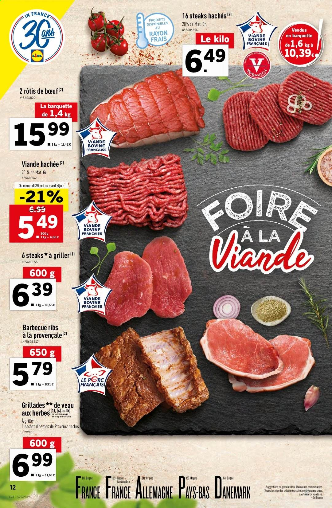 Catalogue Lidl - 29.05.2019 - 04.06.2019. Page 12.