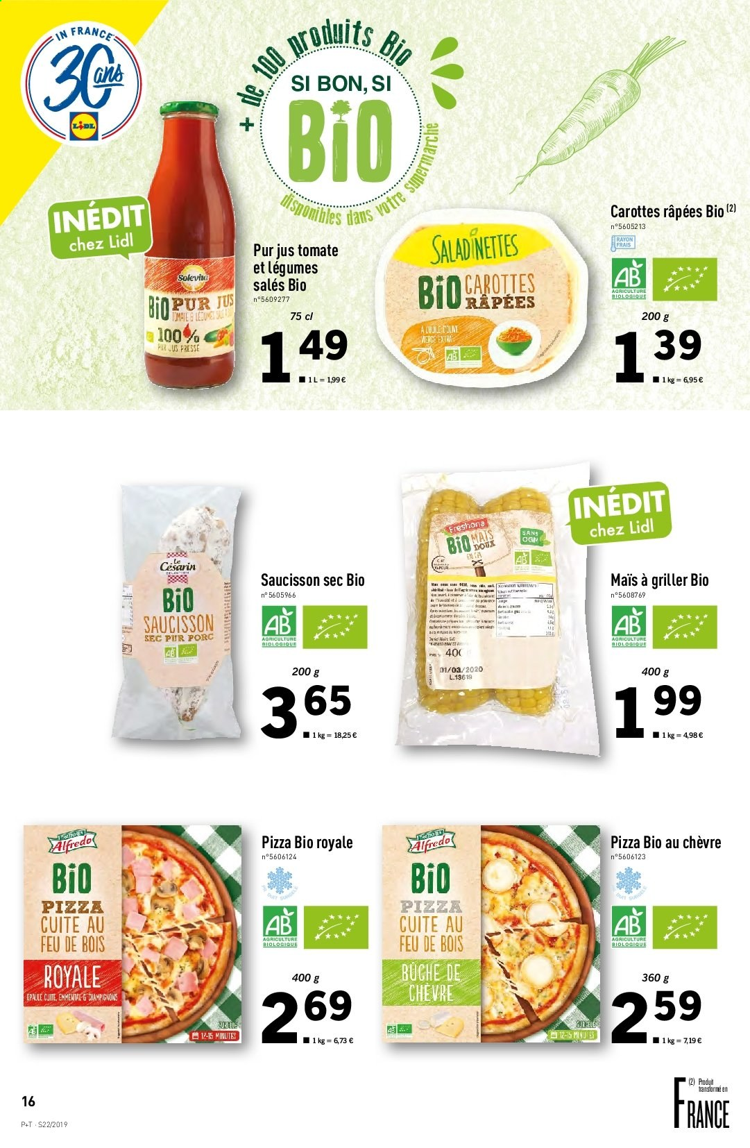 Catalogue Lidl - 29.05.2019 - 04.06.2019. Page 16.