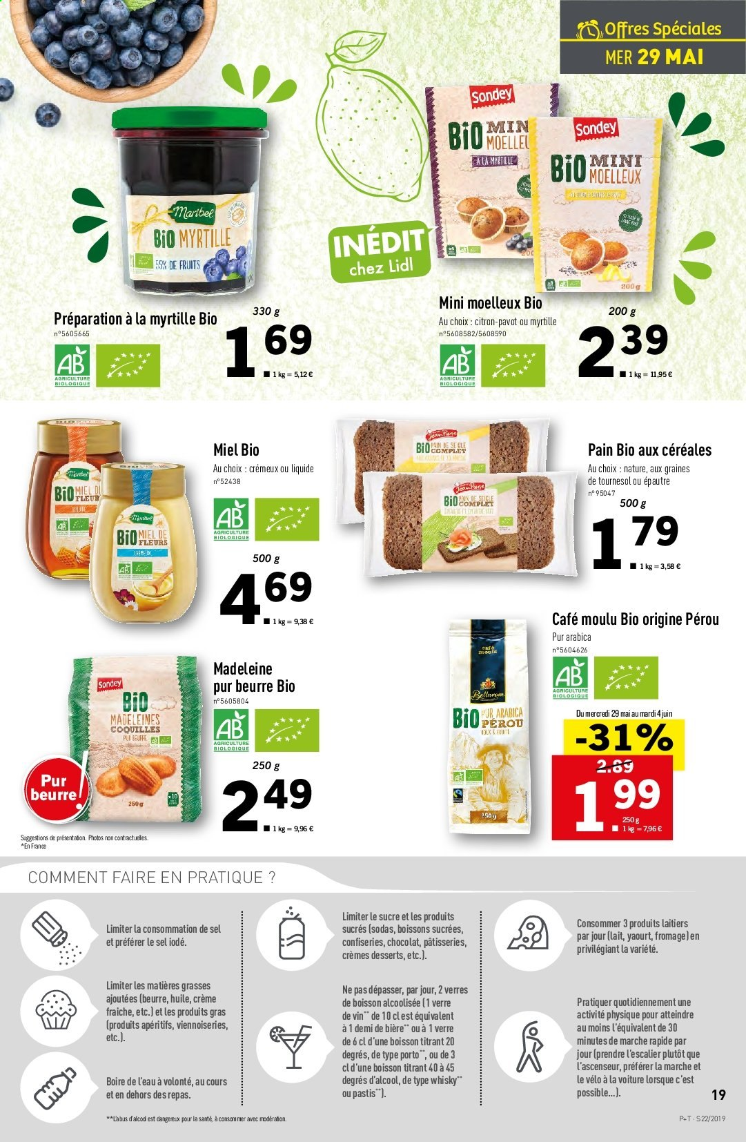 Catalogue Lidl - 29.05.2019 - 04.06.2019. Page 19.