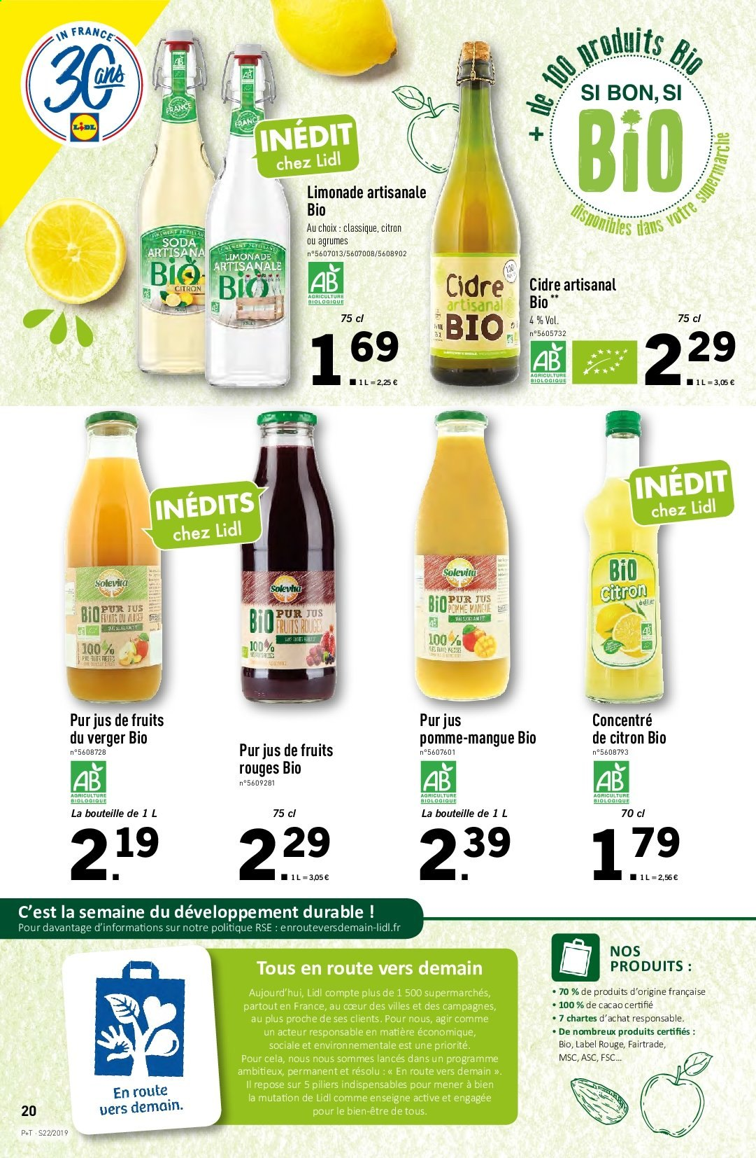 Catalogue Lidl - 29.05.2019 - 04.06.2019. Page 20.