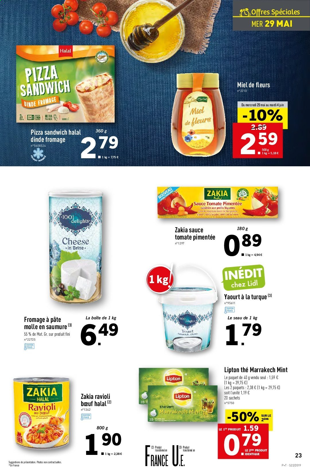 Catalogue Lidl - 29.05.2019 - 04.06.2019. Page 23.