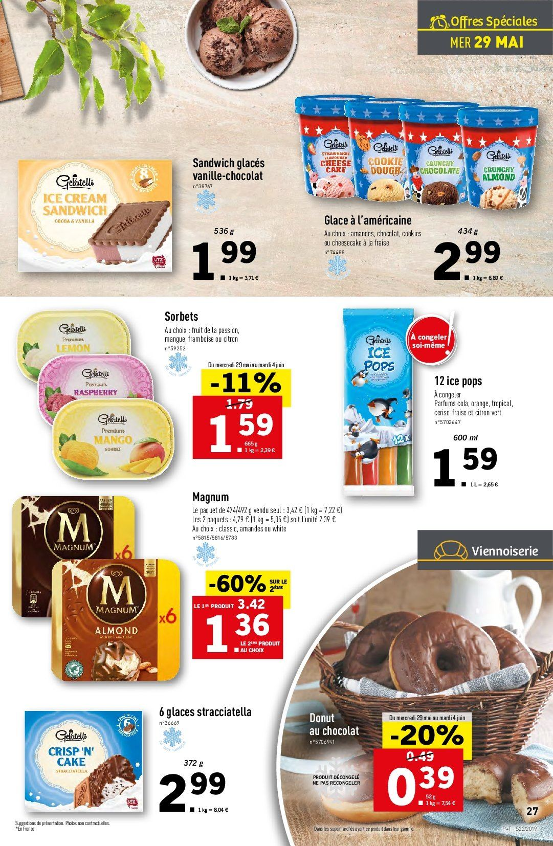 Catalogue Lidl - 29.05.2019 - 04.06.2019. Page 27.