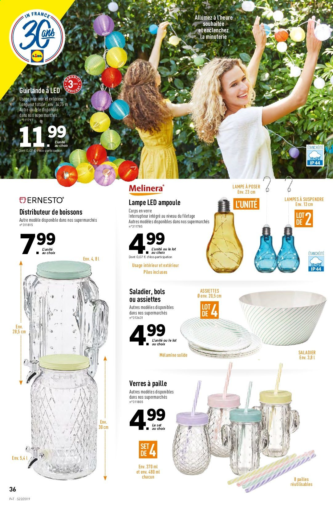 Catalogue Lidl - 29.05.2019 - 04.06.2019. Page 36.