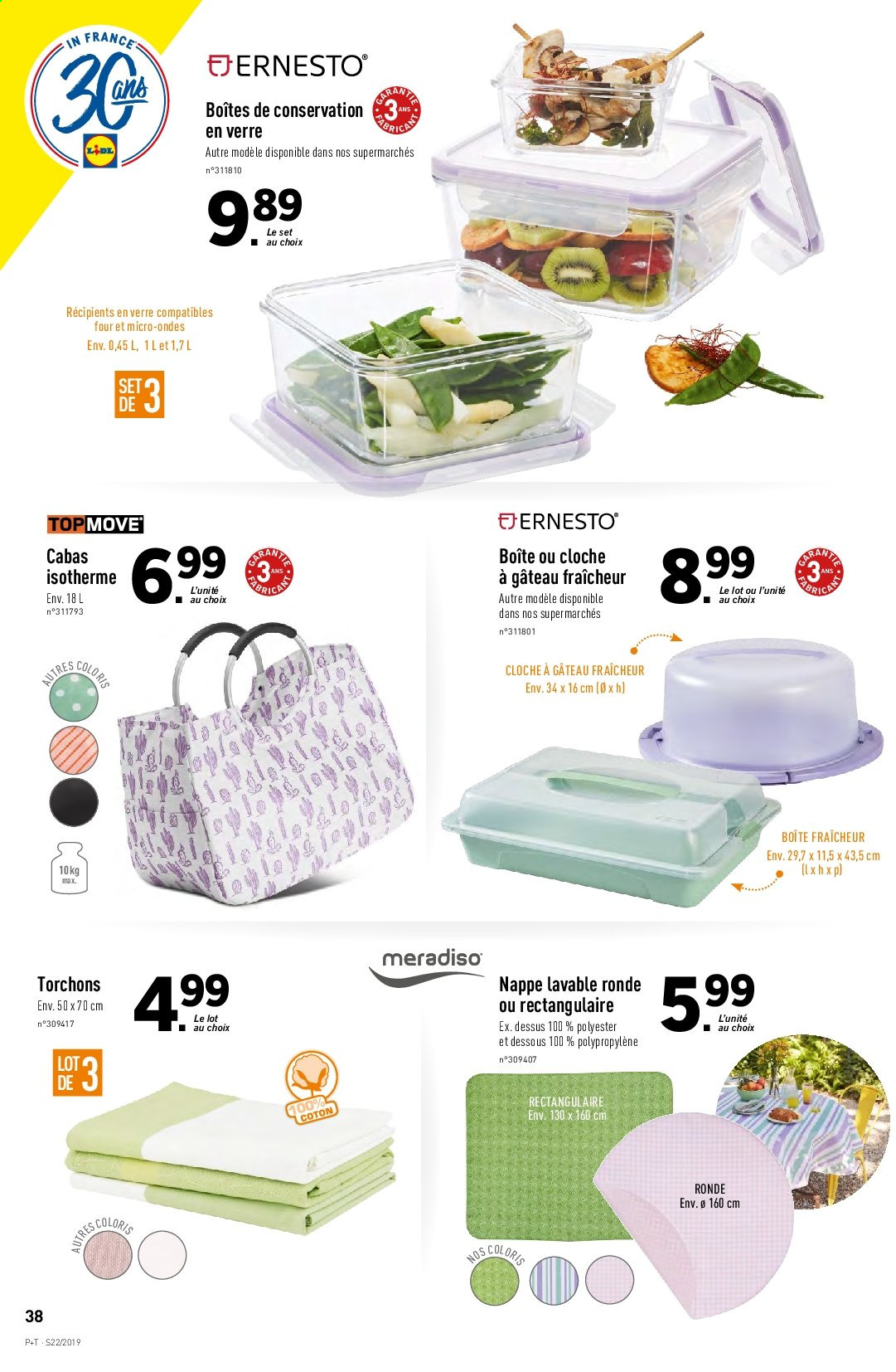 Catalogue Lidl - 29.05.2019 - 04.06.2019. Page 38.