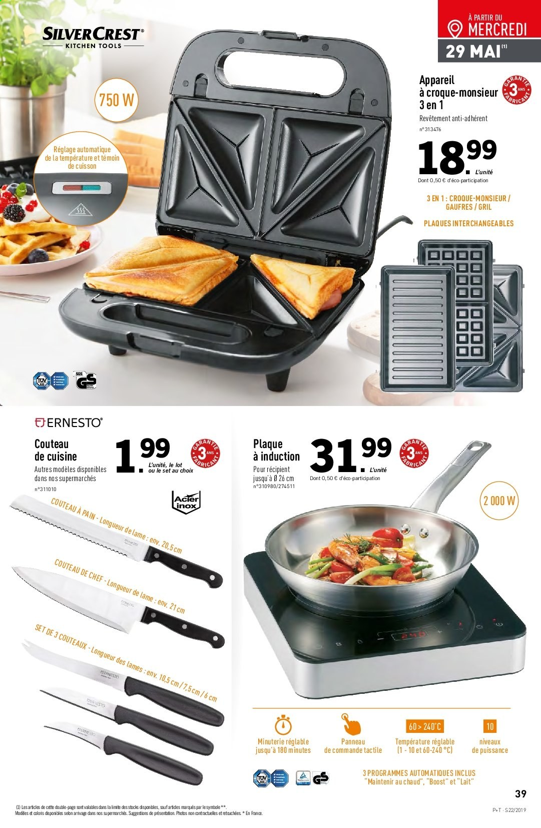 Catalogue Lidl - 29.05.2019 - 04.06.2019. Page 39.