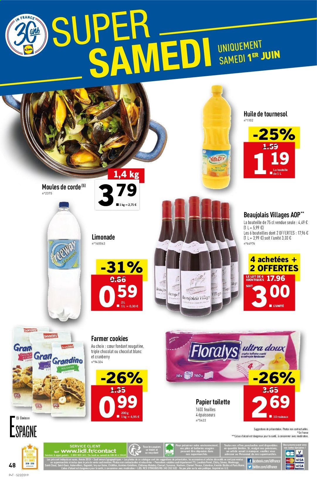 Catalogue Lidl - 29.05.2019 - 04.06.2019. Page 50.