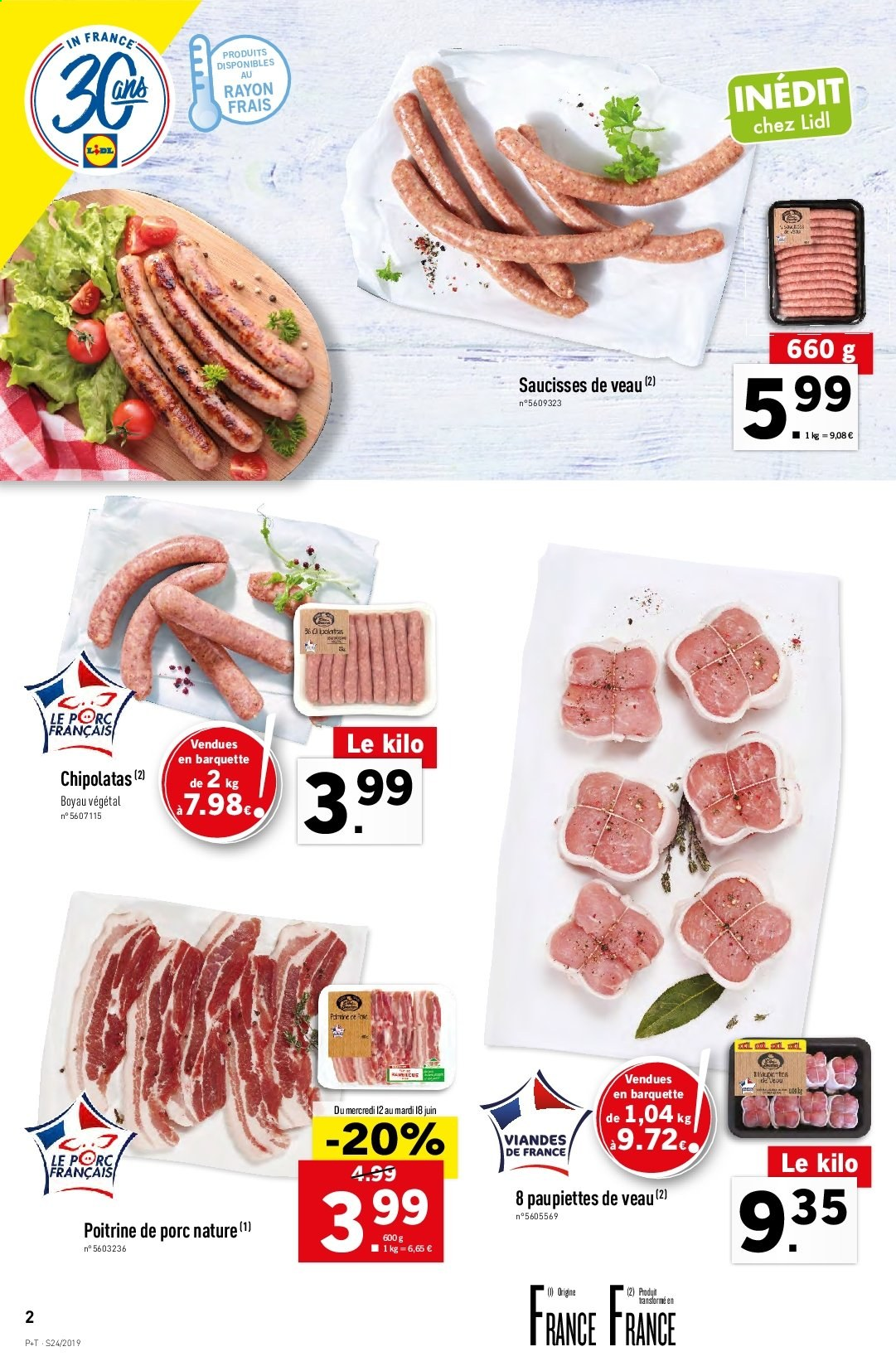 Catalogue Lidl - 12.06.2019 - 18.06.2019. Page 2.