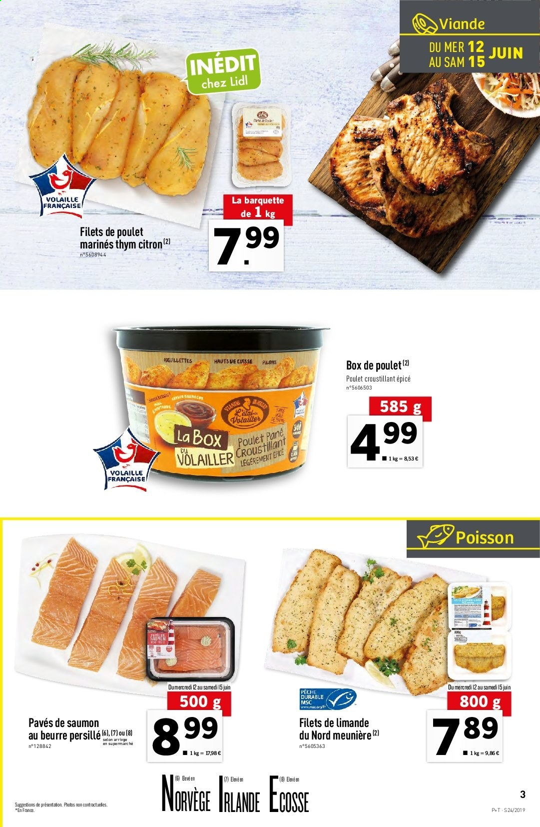 Catalogue Lidl - 12.06.2019 - 18.06.2019. Page 3.