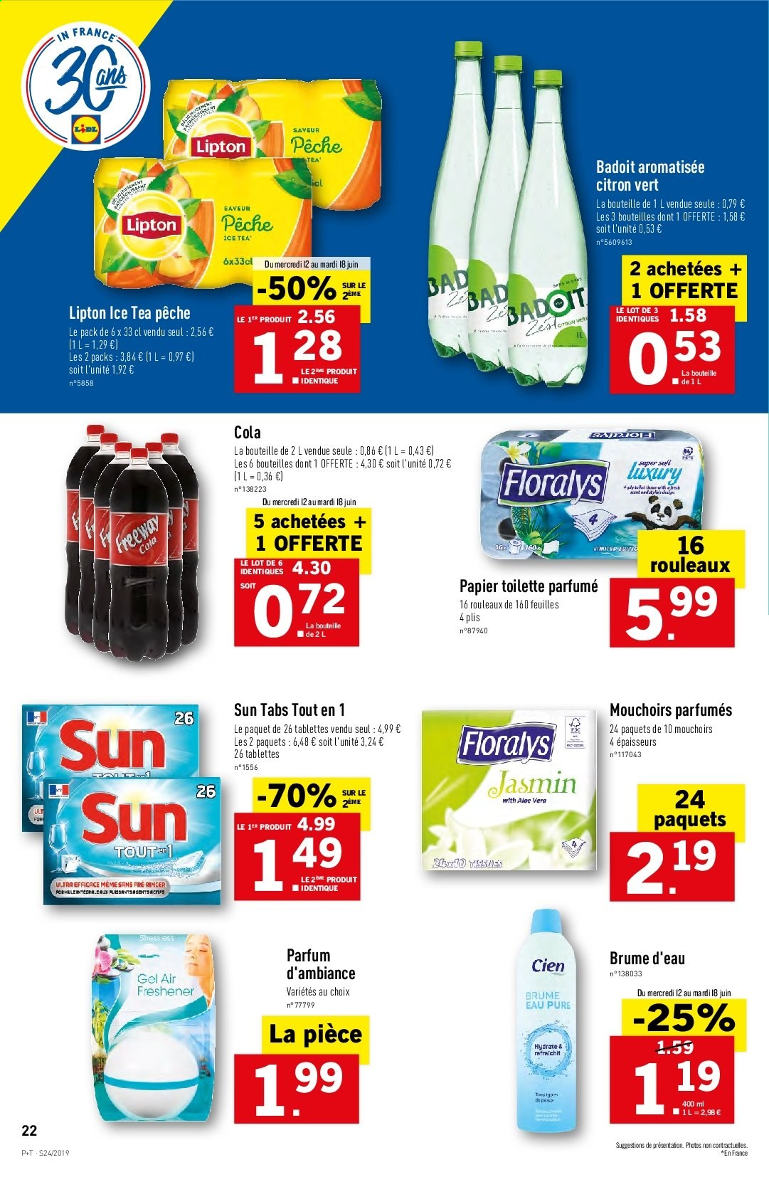 Catalogue Lidl - 12.06.2019 - 18.06.2019. Page 24.