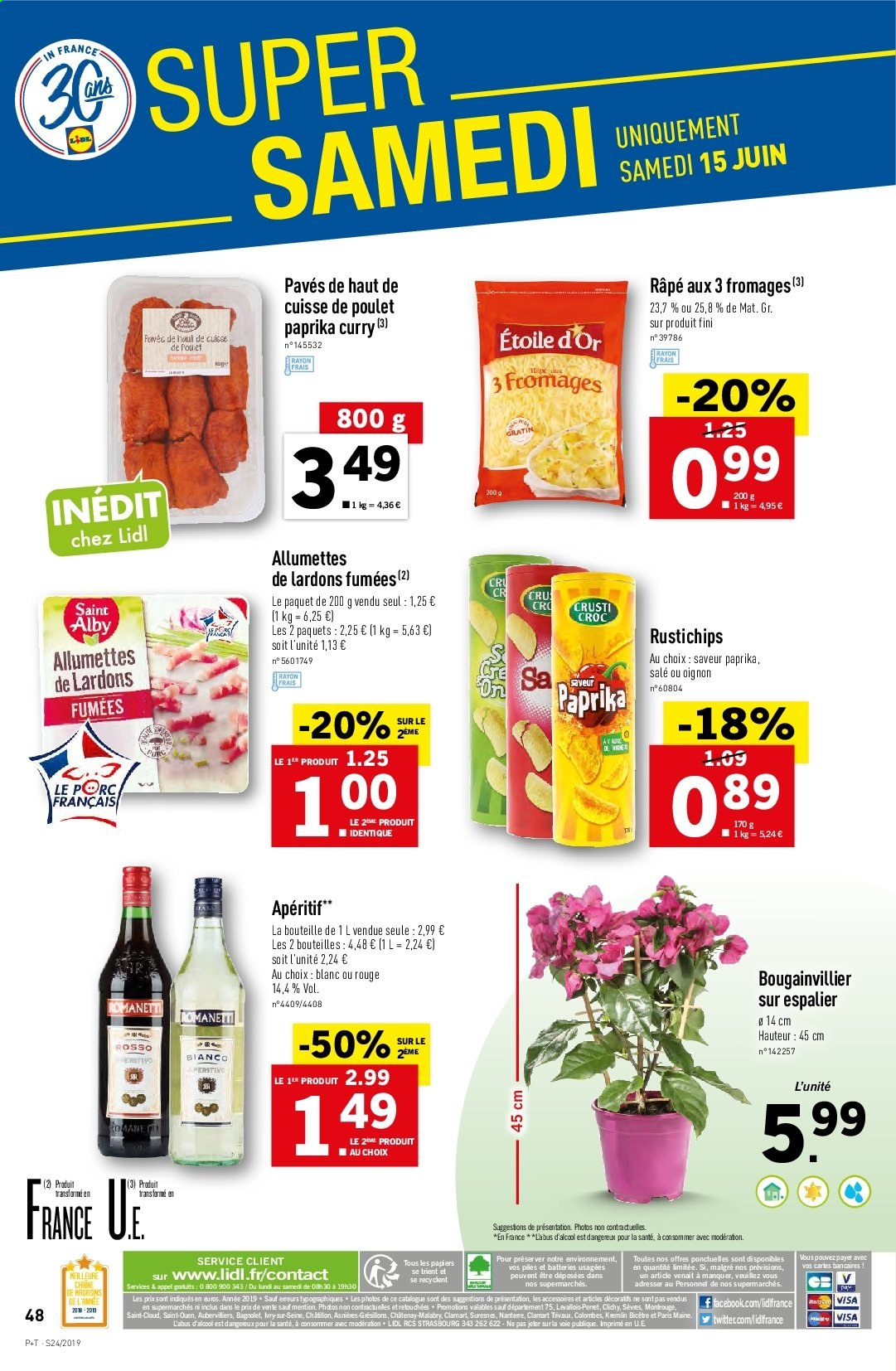 Catalogue Lidl - 12.06.2019 - 18.06.2019. Page 50.