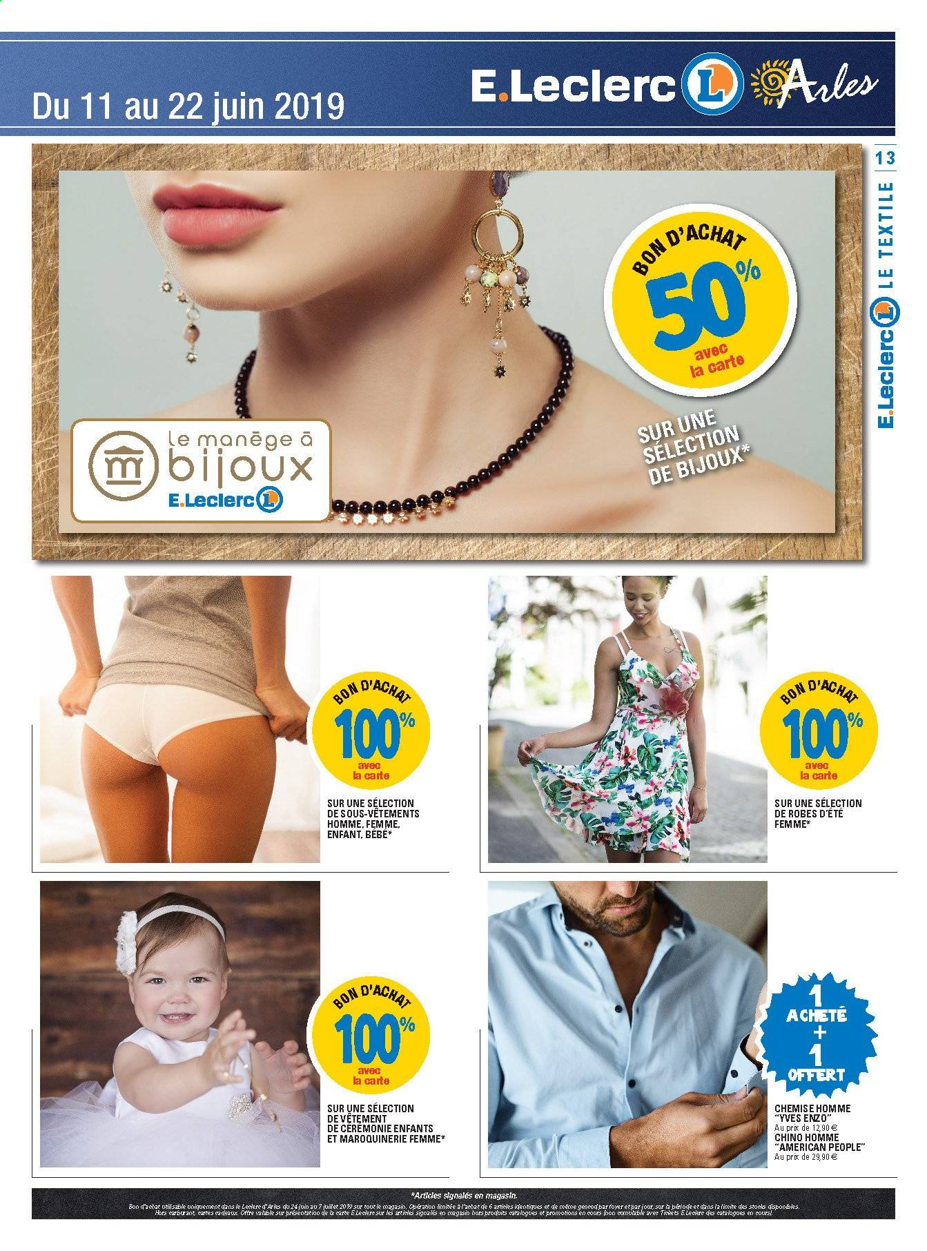 Catalogue E.Leclerc - 11.06.2019 - 22.06.2019. Page 13.