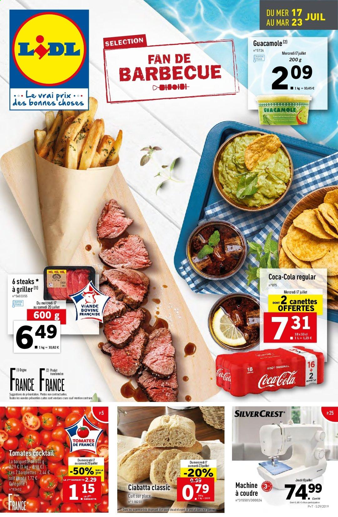 Catalogue Lidl - 17.07.2019 - 23.07.2019. Page 1.