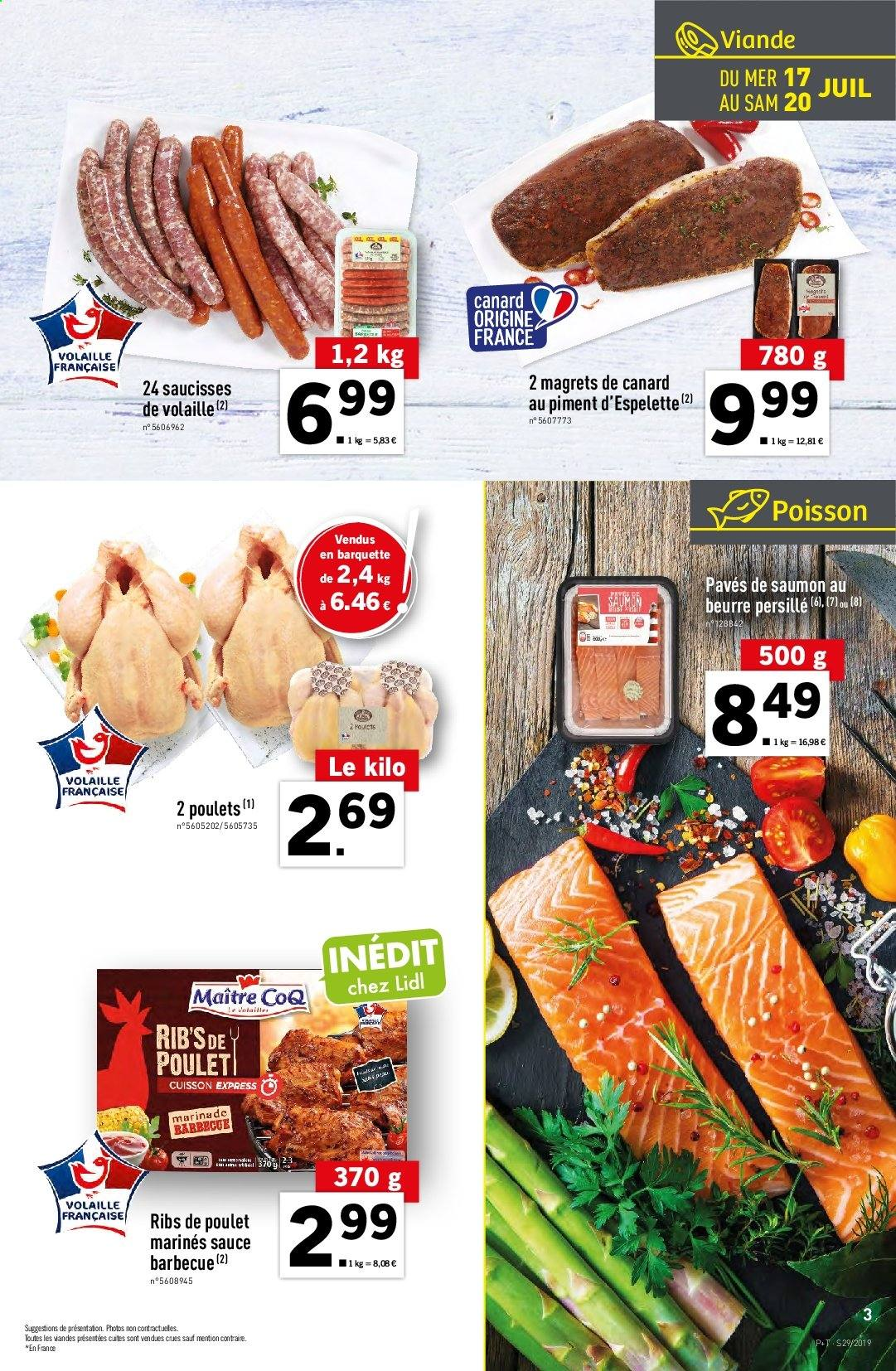 Catalogue Lidl - 17.07.2019 - 23.07.2019. Page 3.