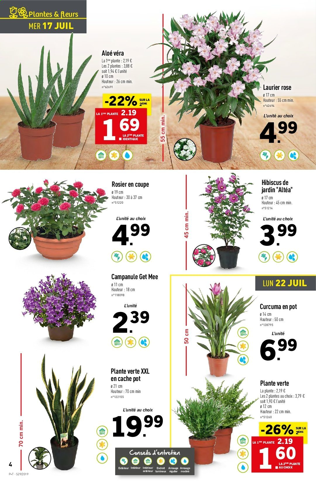 Catalogue Lidl - 17.07.2019 - 23.07.2019. Page 4.