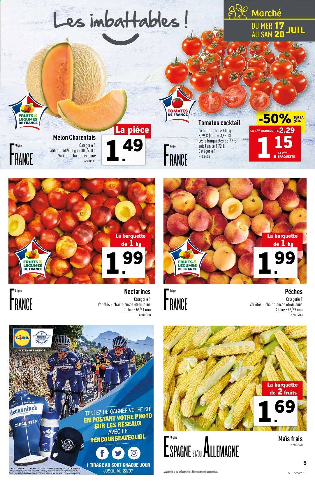 Catalogue Lidl - 17.07.2019 - 23.07.2019. Page 5.