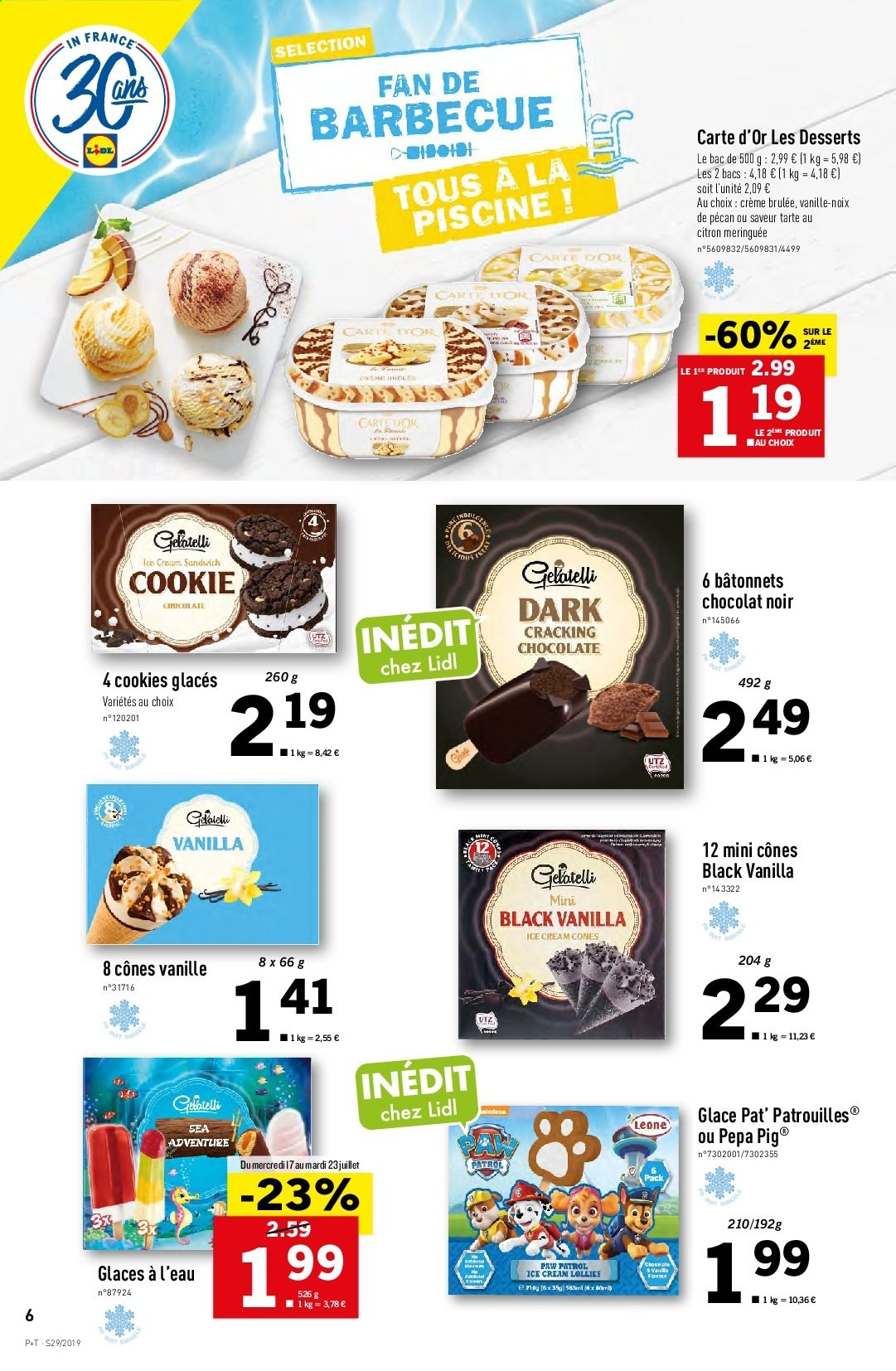 Catalogue Lidl - 17.07.2019 - 23.07.2019. Page 6.