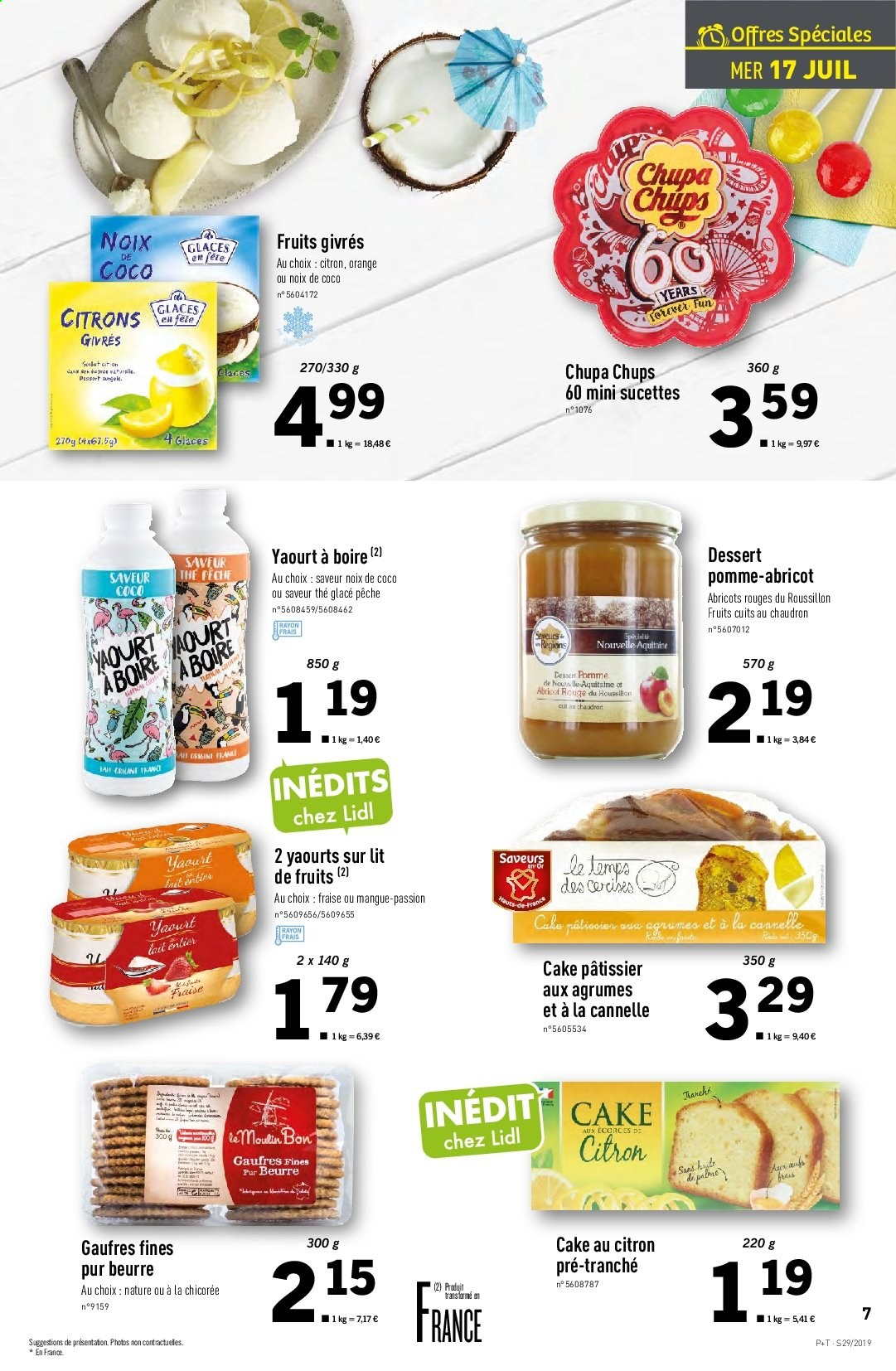 Catalogue Lidl - 17.07.2019 - 23.07.2019. Page 7.