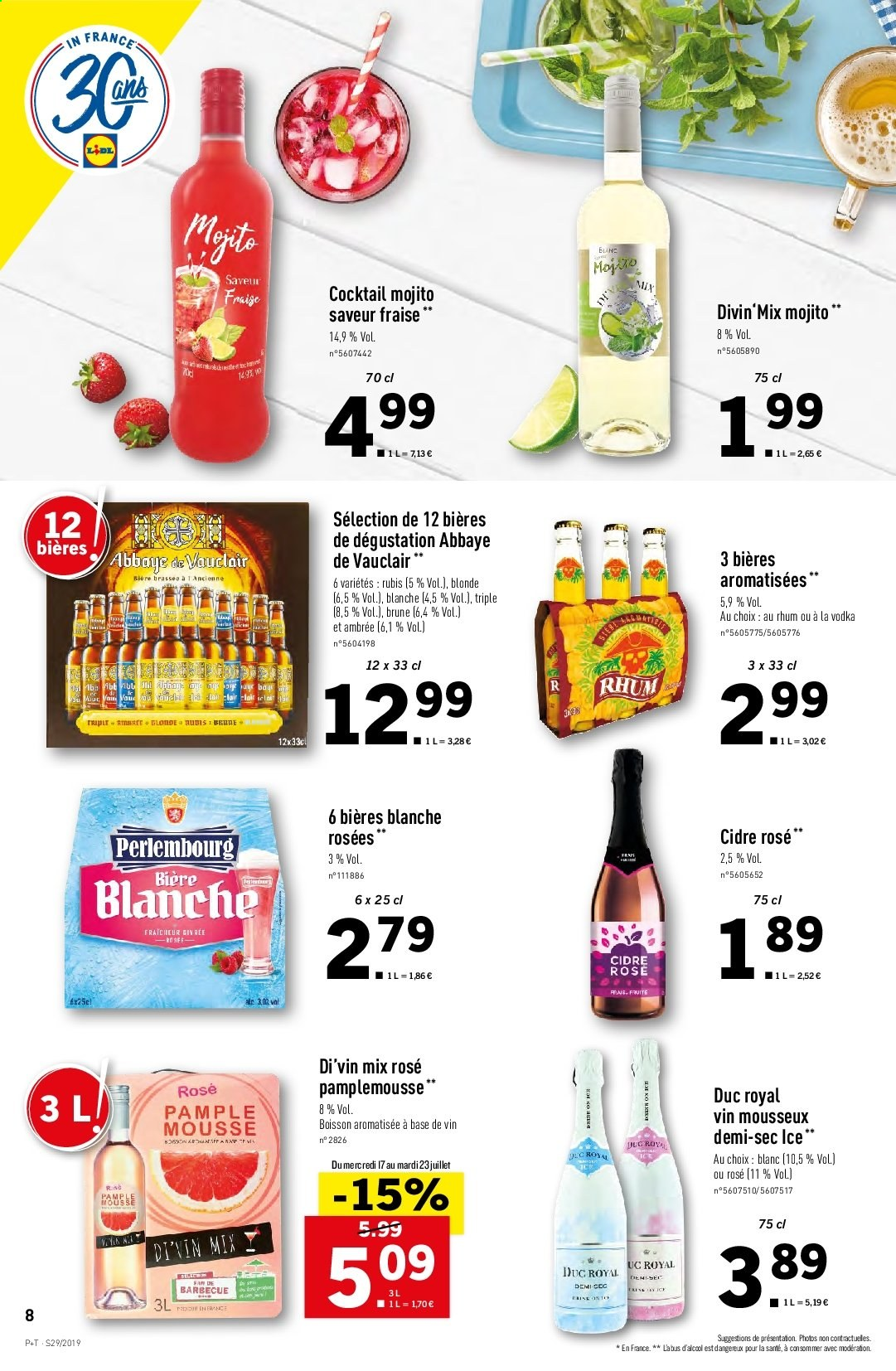 Catalogue Lidl - 17.07.2019 - 23.07.2019. Page 8.