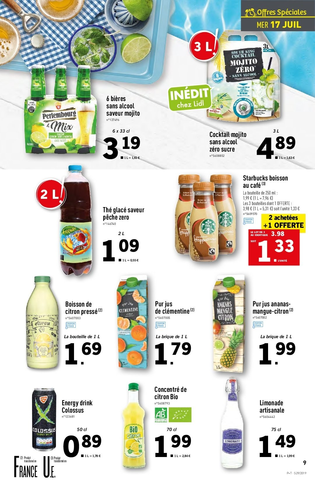 Catalogue Lidl - 17.07.2019 - 23.07.2019. Page 9.