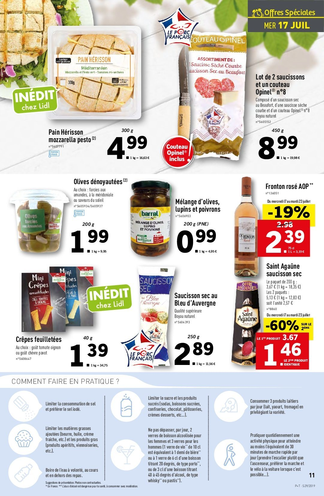Catalogue Lidl - 17.07.2019 - 23.07.2019. Page 11.