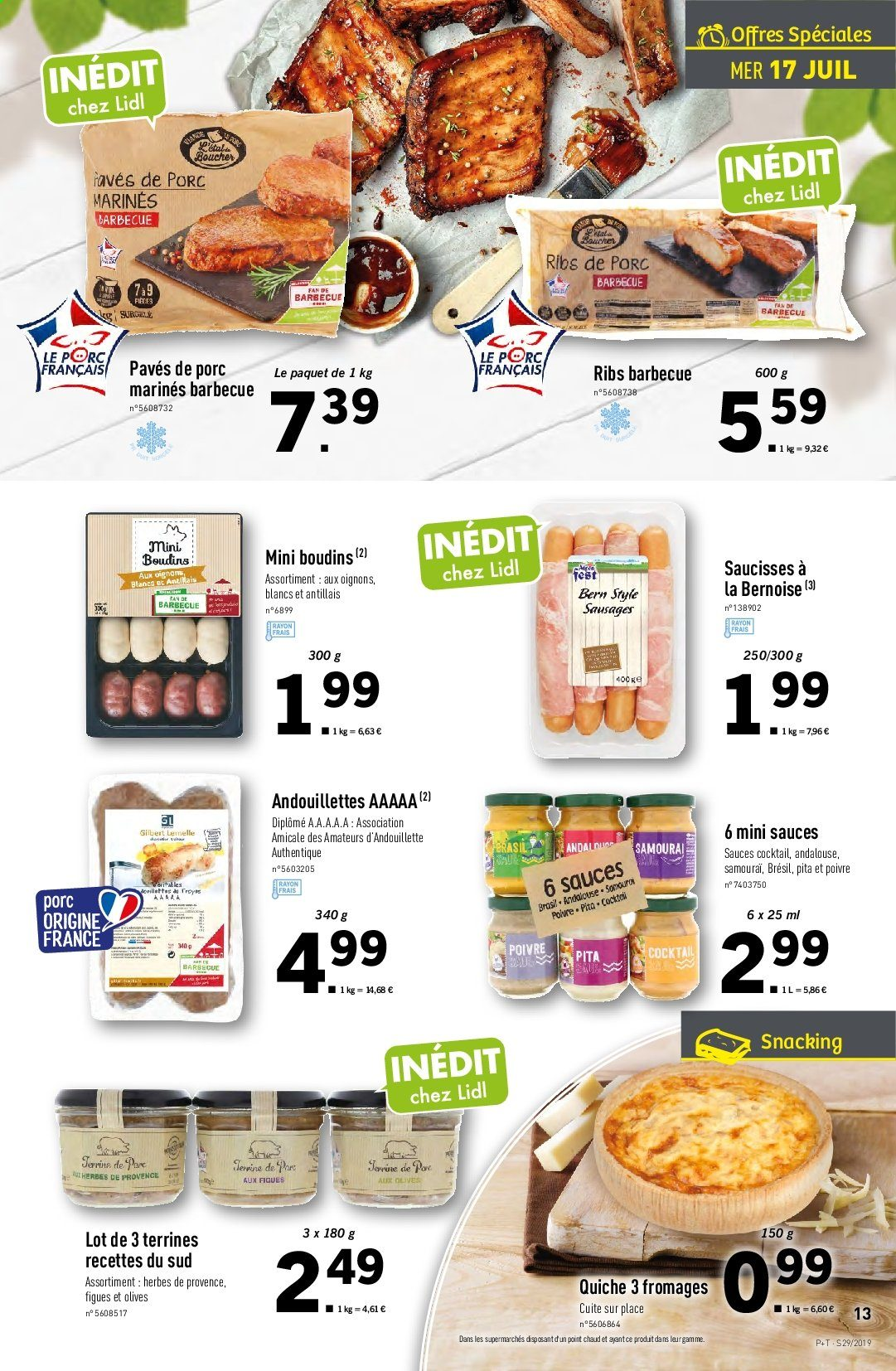 Catalogue Lidl - 17.07.2019 - 23.07.2019. Page 13.