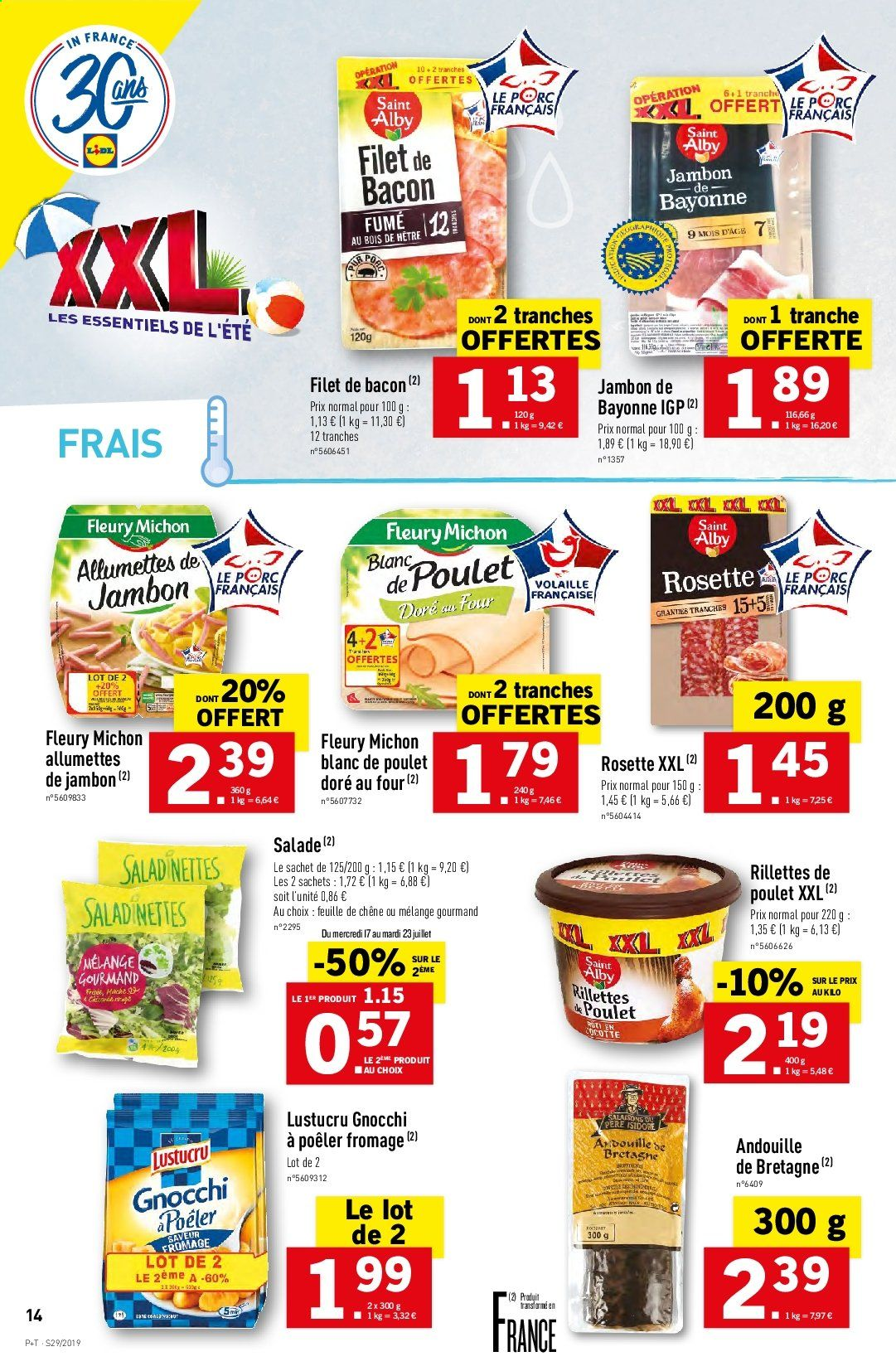 Catalogue Lidl - 17.07.2019 - 23.07.2019. Page 14.