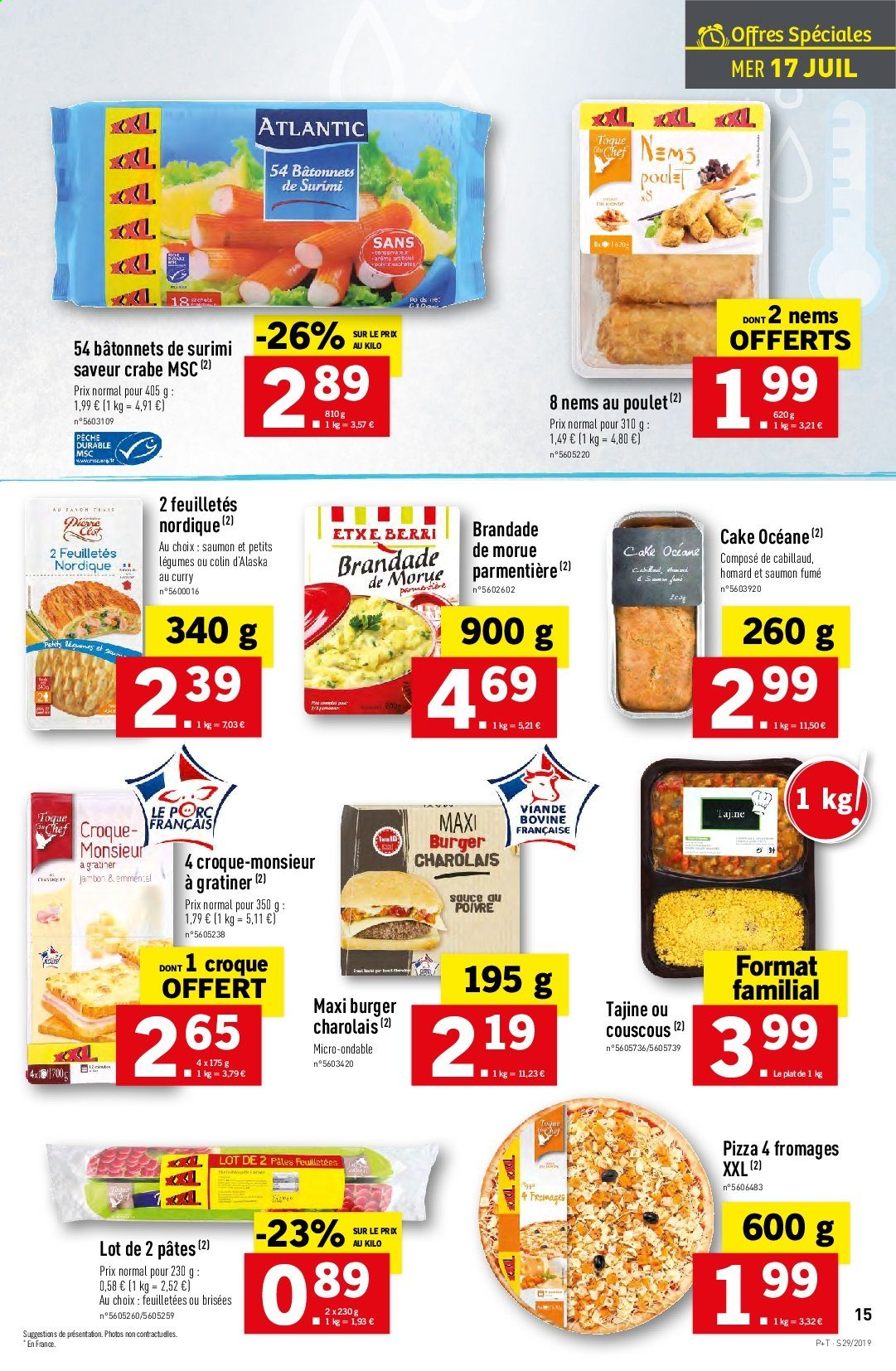 Catalogue Lidl - 17.07.2019 - 23.07.2019. Page 15.