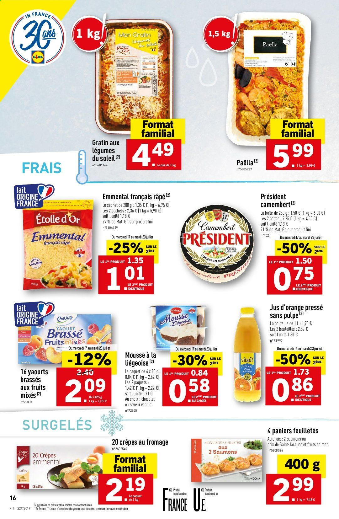 Catalogue Lidl - 17.07.2019 - 23.07.2019. Page 16.