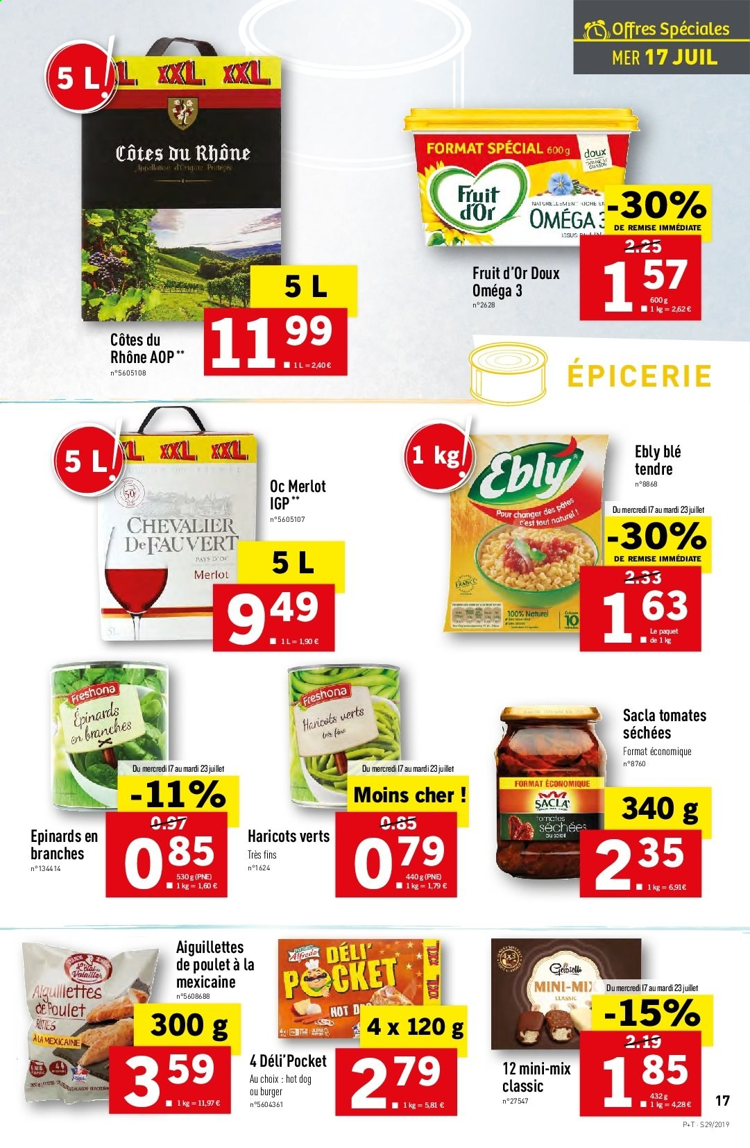 Catalogue Lidl - 17.07.2019 - 23.07.2019. Page 17.