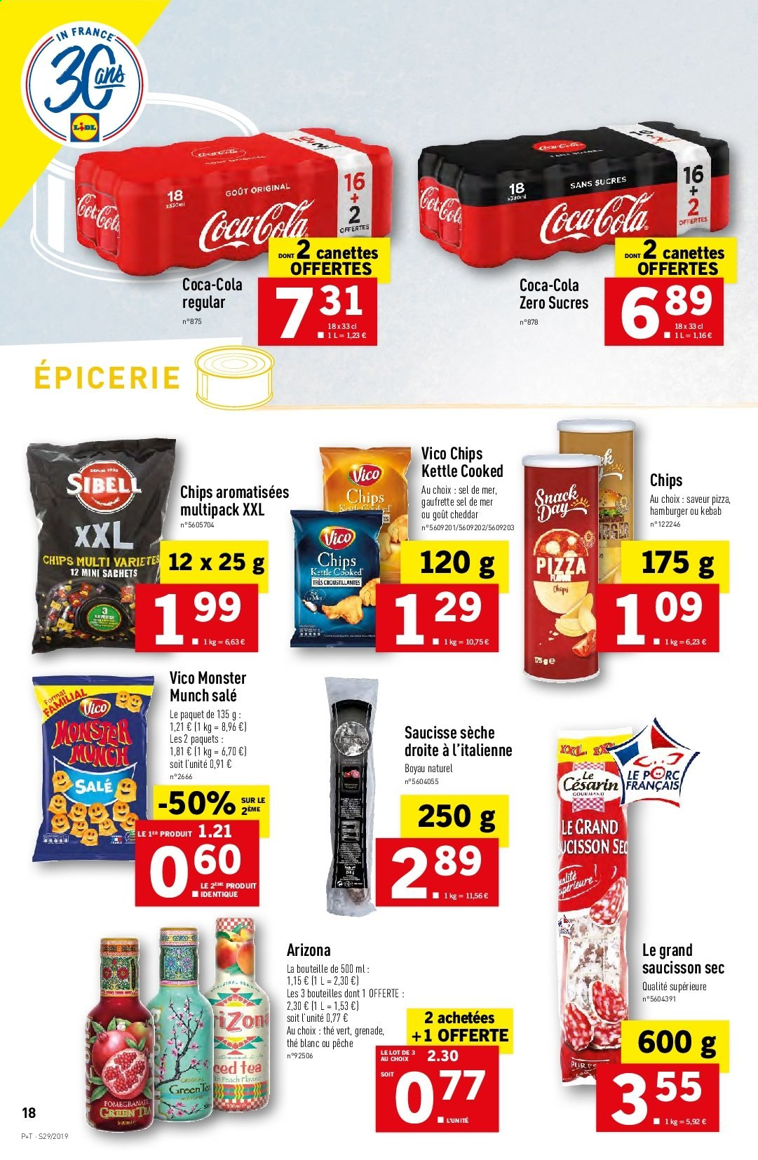 Catalogue Lidl - 17.07.2019 - 23.07.2019. Page 18.