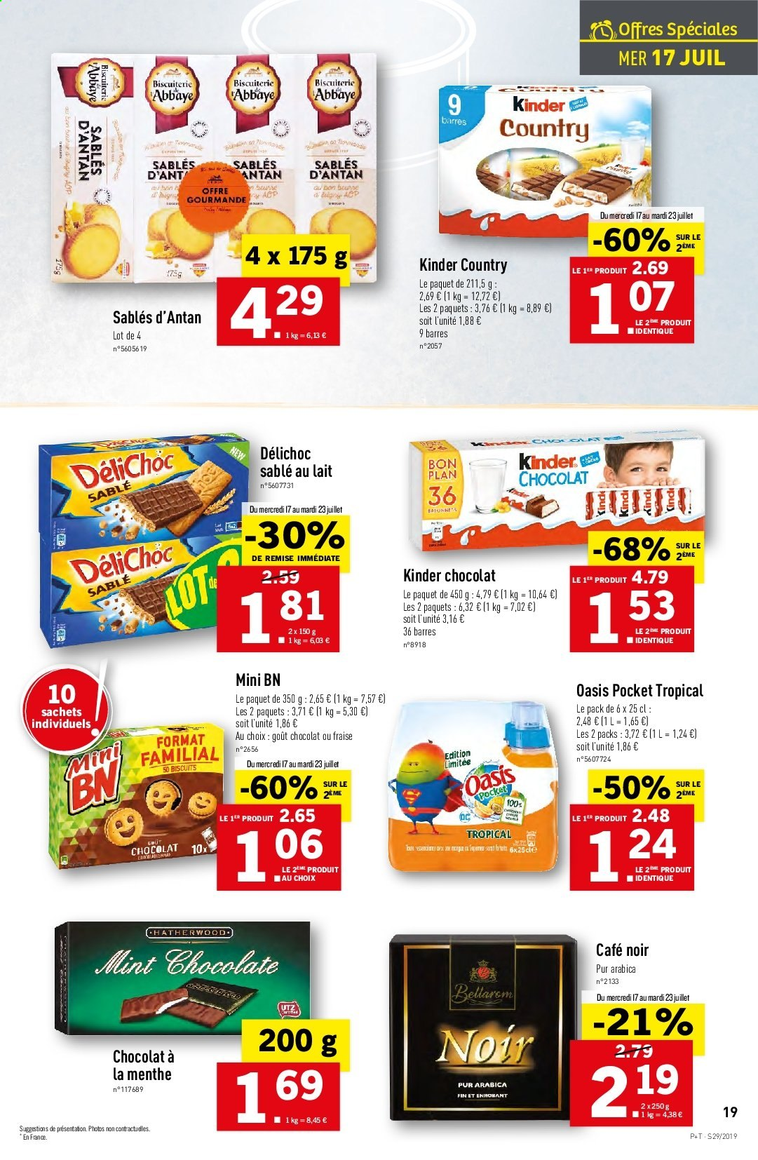 Catalogue Lidl - 17.07.2019 - 23.07.2019. Page 19.