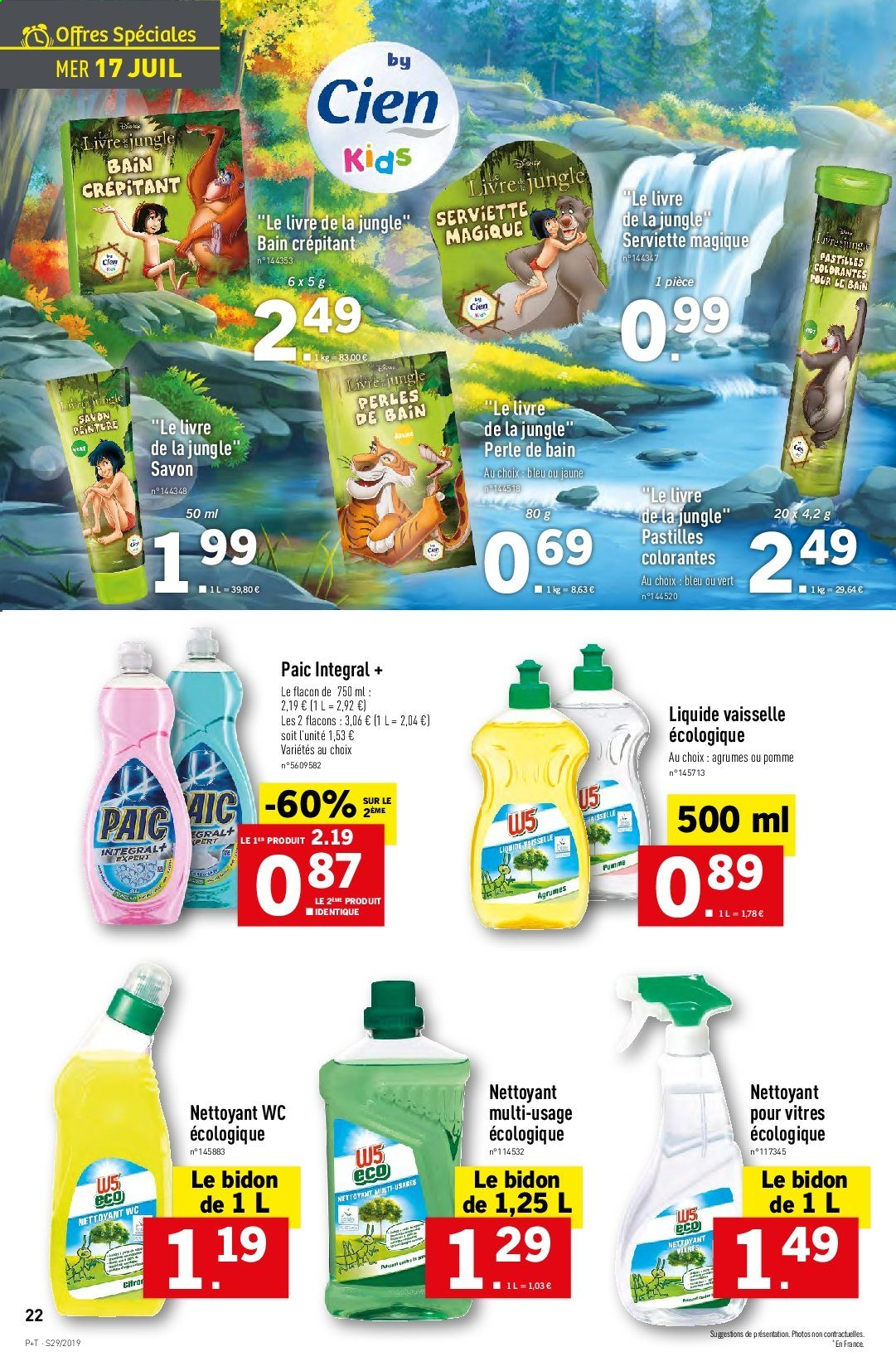 Catalogue Lidl - 17.07.2019 - 23.07.2019. Page 22.