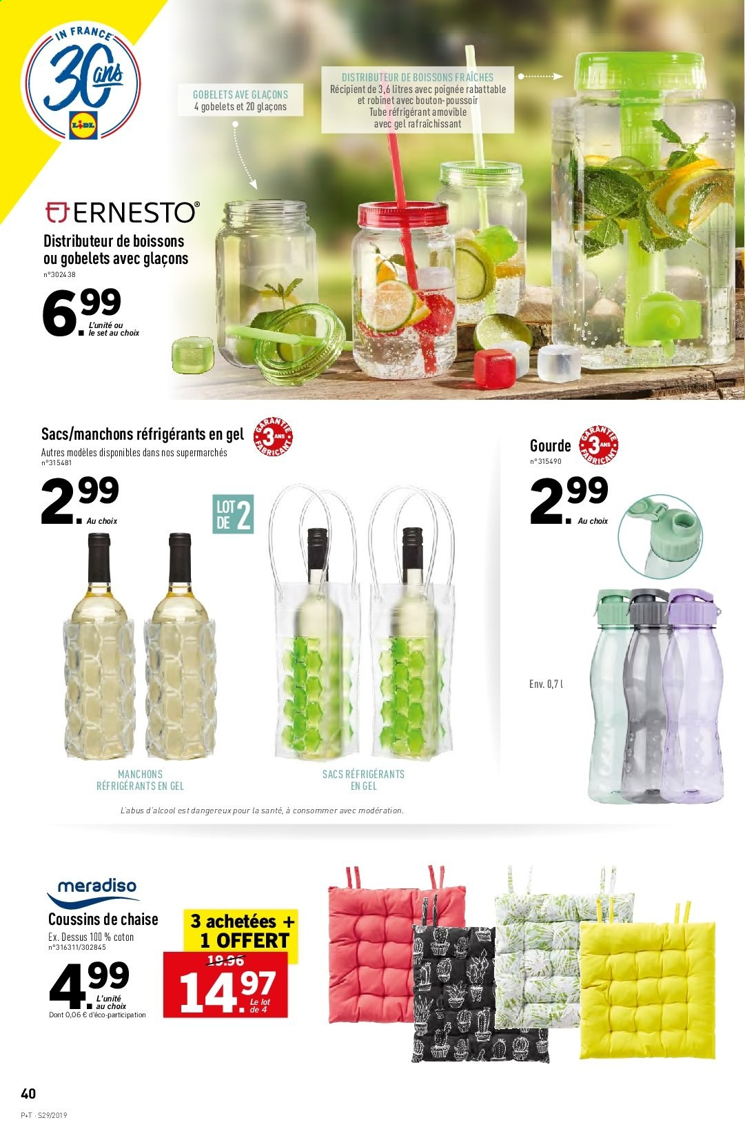 Catalogue Lidl - 17.07.2019 - 23.07.2019. Page 42.