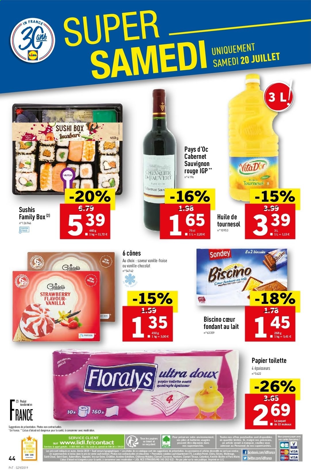 Catalogue Lidl - 17.07.2019 - 23.07.2019. Page 46.