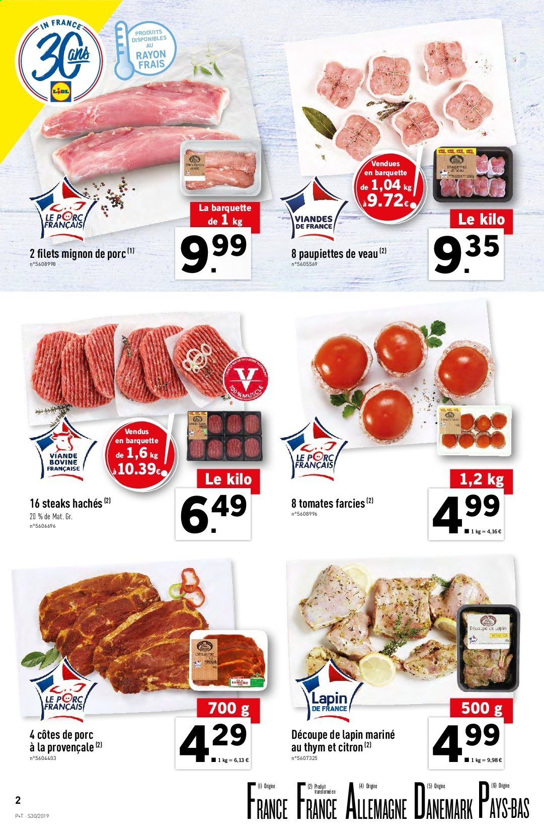 Catalogue Lidl - 24.07.2019 - 30.07.2019. Page 2.