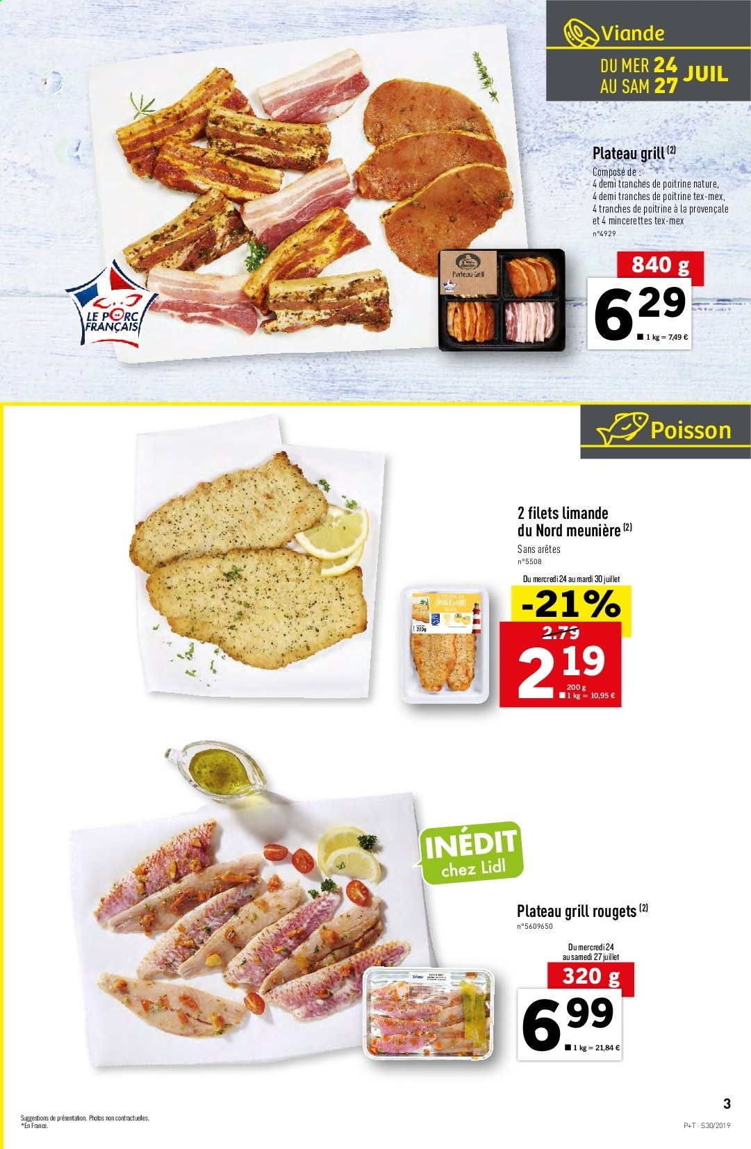 Catalogue Lidl - 24.07.2019 - 30.07.2019. Page 3.