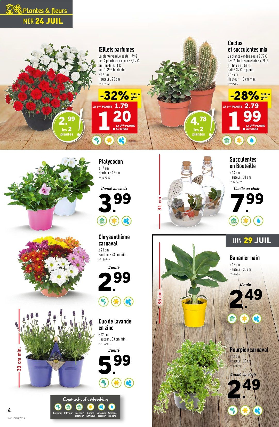 Catalogue Lidl - 24.07.2019 - 30.07.2019. Page 4.