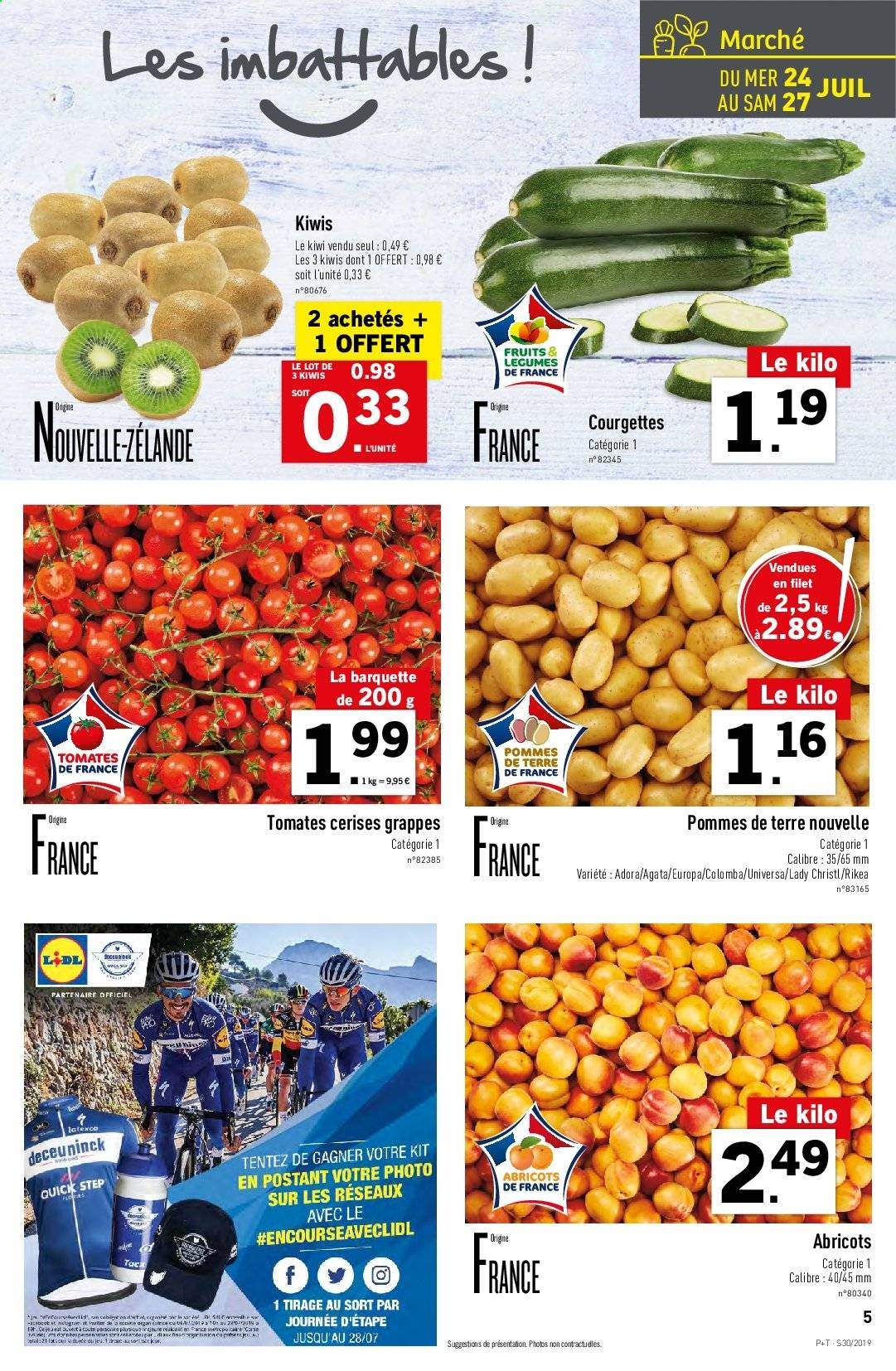 Catalogue Lidl - 24.07.2019 - 30.07.2019. Page 5.