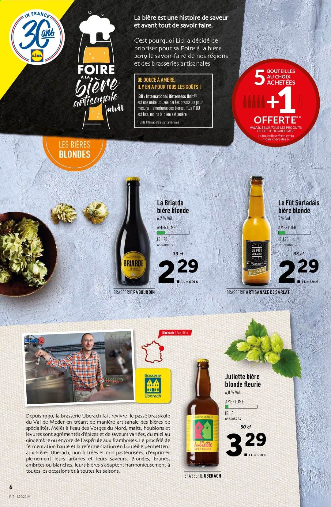 Catalogue Lidl - 24.07.2019 - 30.07.2019. Page 6.