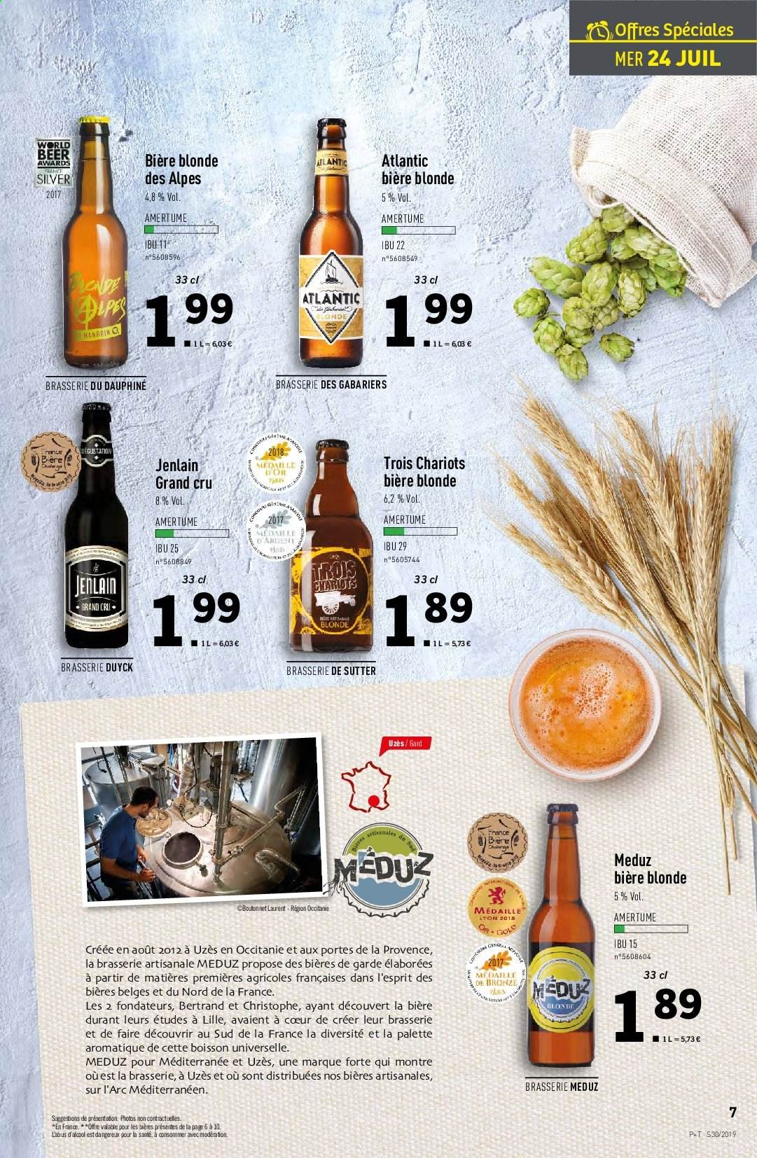 Catalogue Lidl - 24.07.2019 - 30.07.2019. Page 7.