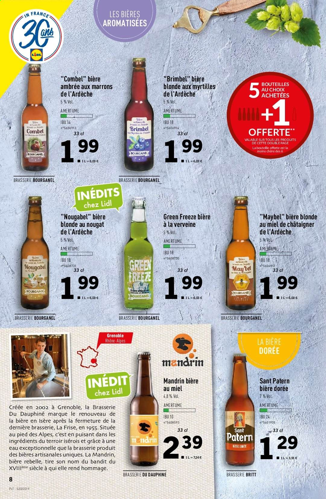 Catalogue Lidl - 24.07.2019 - 30.07.2019. Page 8.