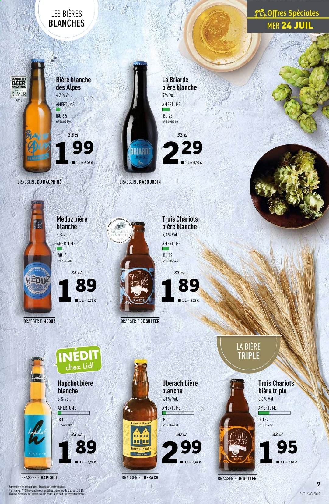 Catalogue Lidl - 24.07.2019 - 30.07.2019. Page 9.