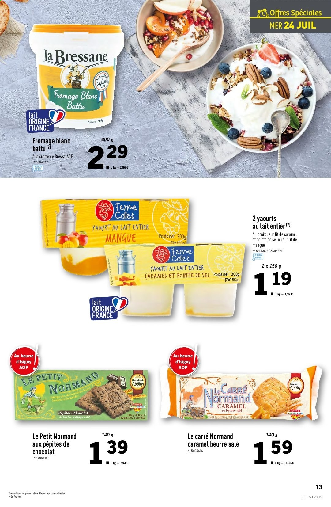 Catalogue Lidl - 24.07.2019 - 30.07.2019. Page 13.