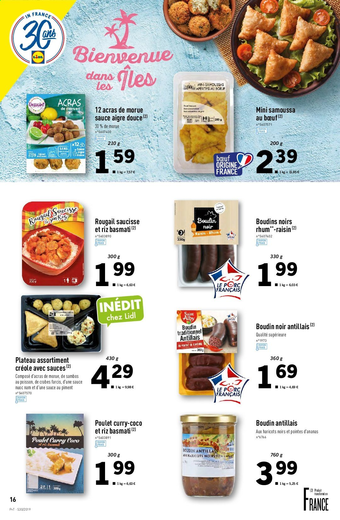 Catalogue Lidl - 24.07.2019 - 30.07.2019. Page 16.