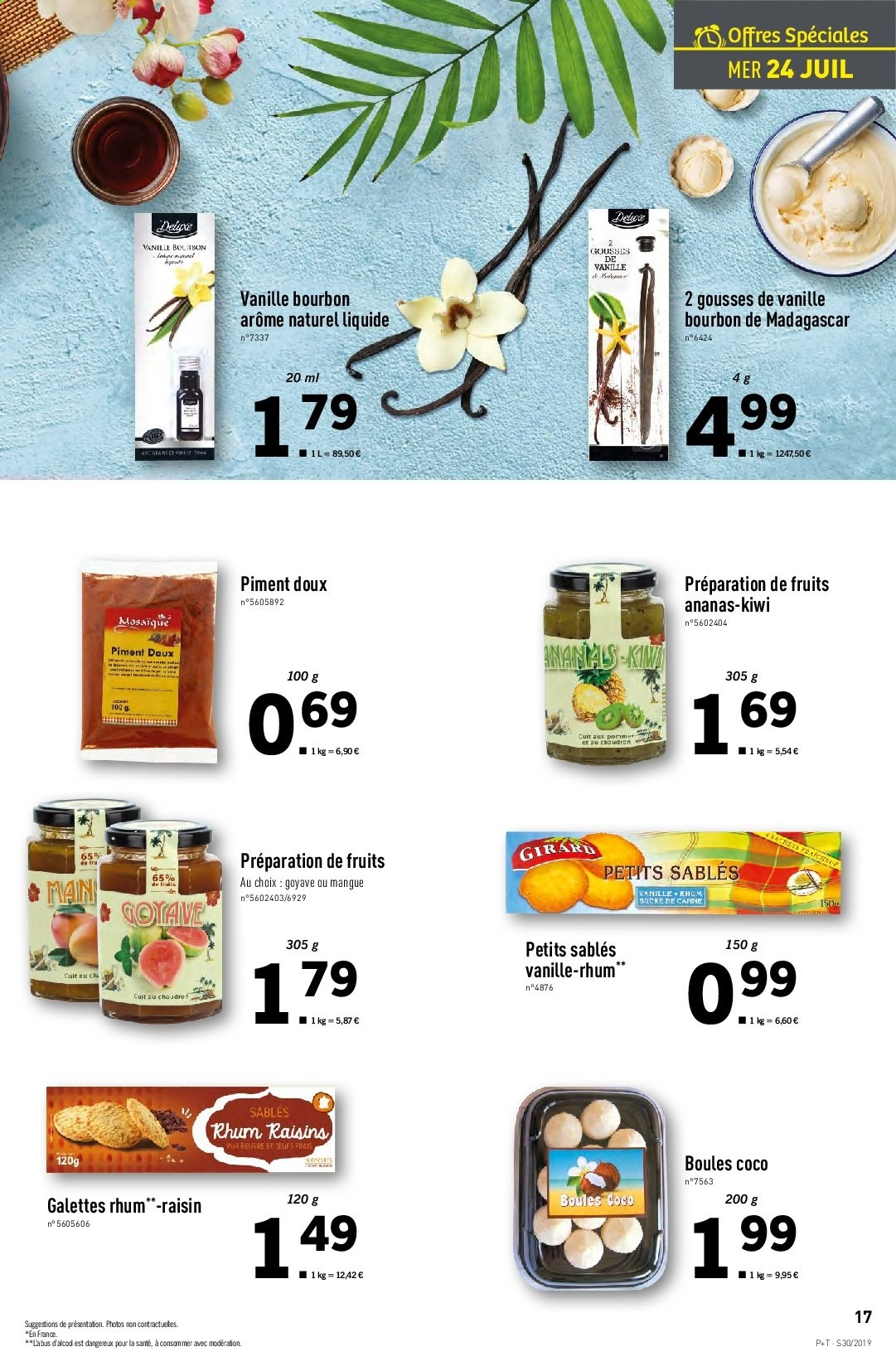 Catalogue Lidl - 24.07.2019 - 30.07.2019. Page 17.