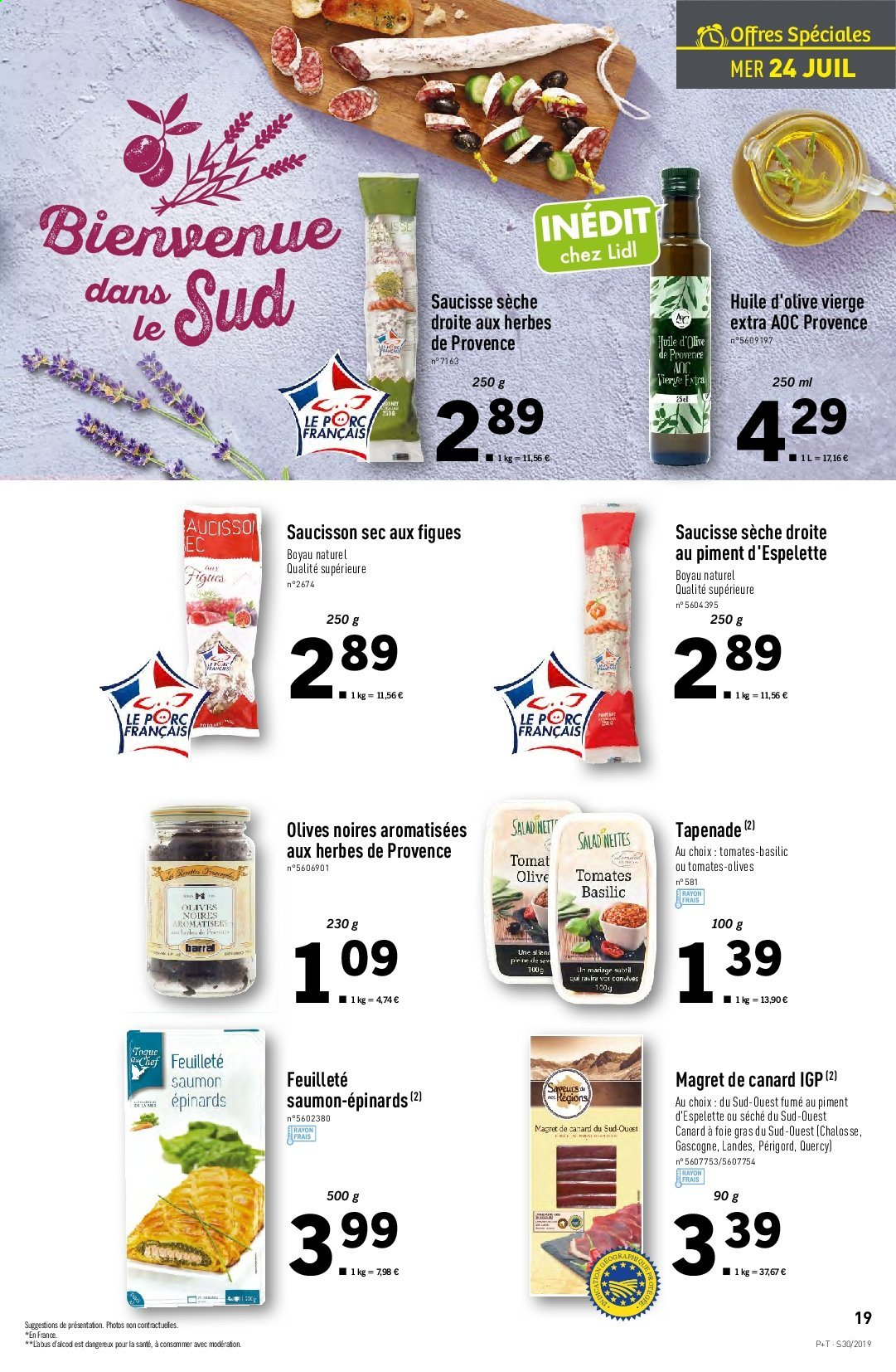 Catalogue Lidl - 24.07.2019 - 30.07.2019. Page 19.