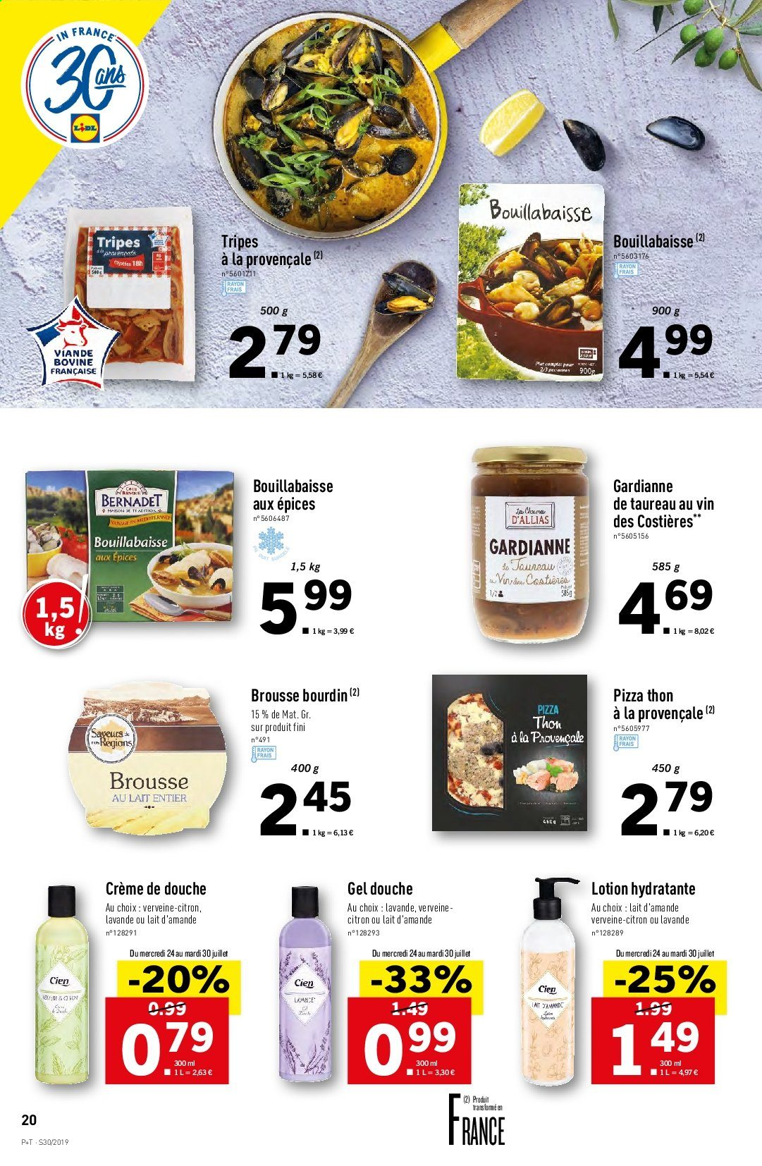 Catalogue Lidl - 24.07.2019 - 30.07.2019. Page 20.