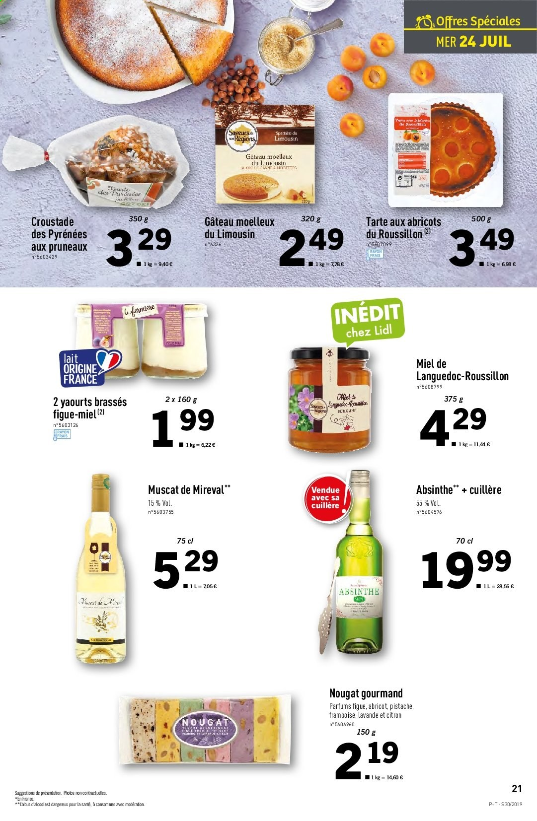 Catalogue Lidl - 24.07.2019 - 30.07.2019. Page 21.
